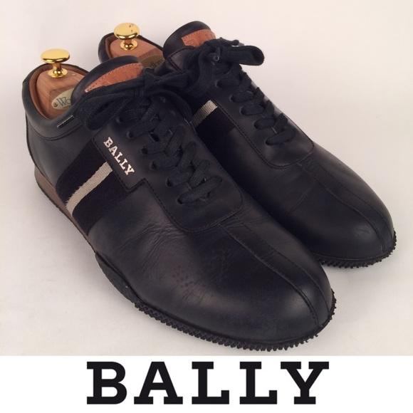 Bally Shoes   Frenz Black Leather